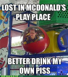 LOST IN MCDONALDS