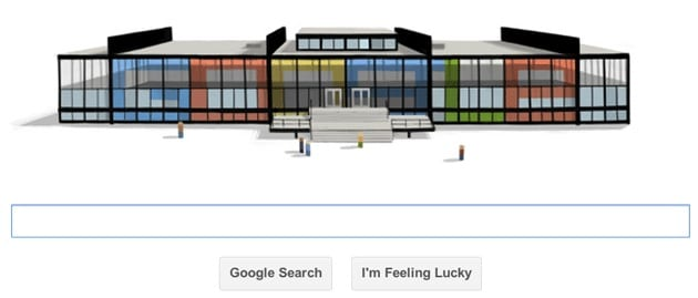 Mies van der Rohe's architecture celebrated with a Google Doodle to mark design pioneer's 126th birthday