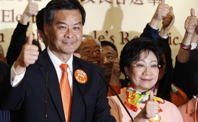 Beijing loyalist wins Hong Kong election
