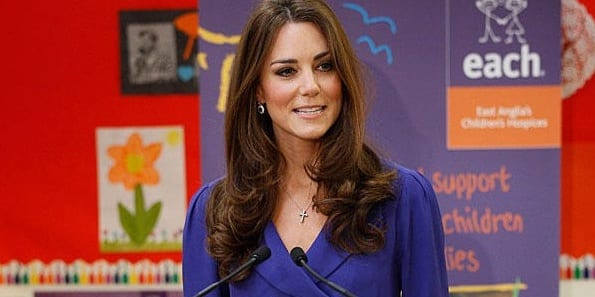 Kate Middleton's first speech as Duchess