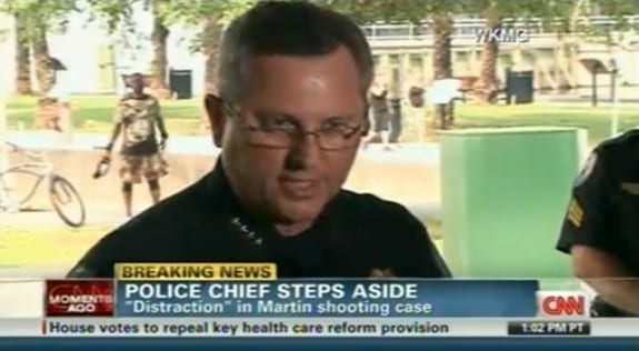 stanford police chief steps aside