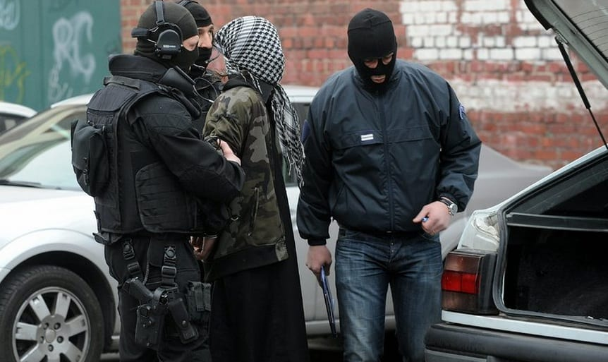 France Targets Islamist Militants In Anti-Terror Raids