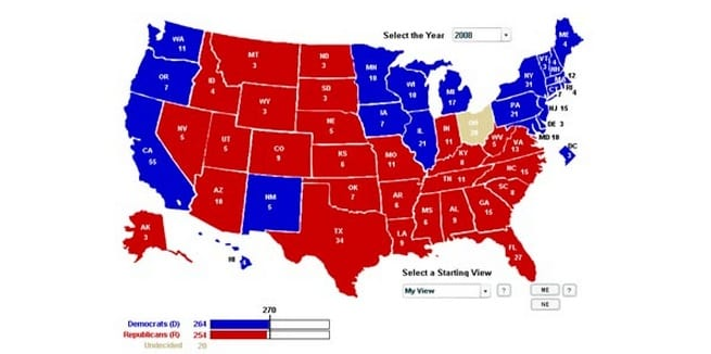 It Don't Mean A Thing If You Ain't Got Them Swing States