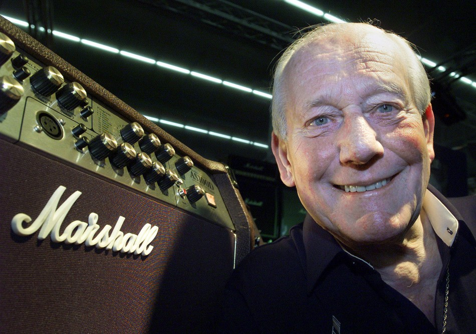 Jim Marshall Dies At 88; Creator Of Famed Rock 'N' Roll Amplifiers