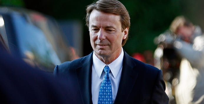 John Edwards Faces Campaign Finance Charges‎