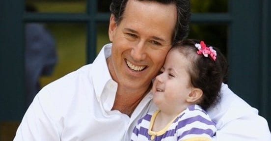 Santorum's Daughter In Hospital – Candidate Takes Time Away From Campaigning To Be With Her
