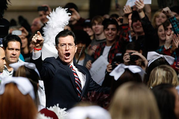 Stephen Colbert Wins Peabody Award For SuperPAC Satire