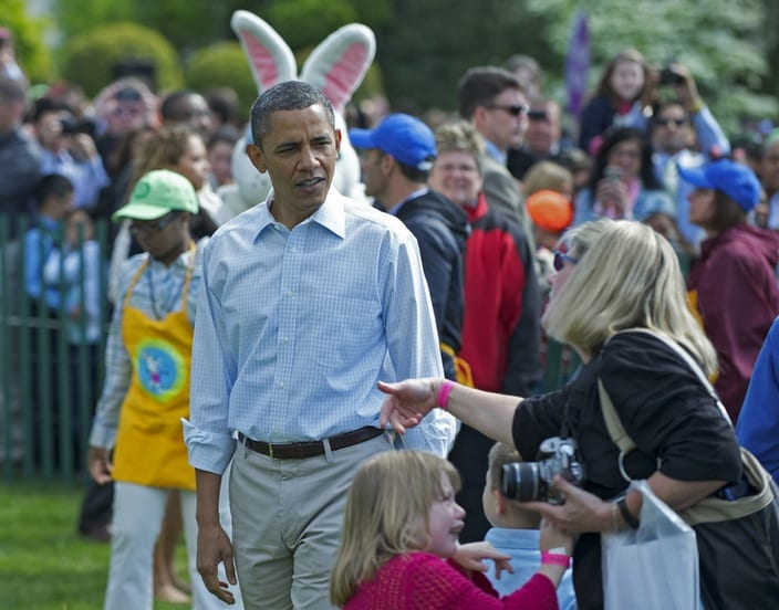 White House Easter Egg Roll 2012