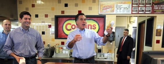 Wisconsin Democrats File Complaint Against Mitt Romney & Paul Ryan Over Free Sub Sandwiches