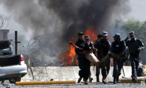 At Least 15 Killed in Afghan Blasts