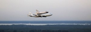 Space Shuttle Discovery's Final Flight Over Washington, D.C.