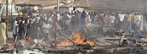 Suicide car bombing kills 38 in Nigeria on Easter Sunday