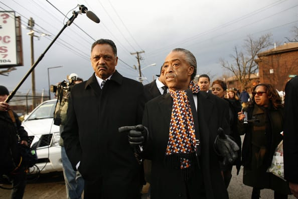 Al Sharpton And Jesse Jackson Back The President On Gay Marriage