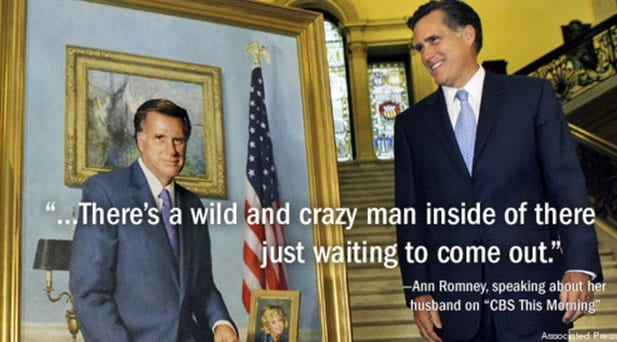 Ann Romney On Mitt: 'Wild And Crazy Man Inside There Just Waiting To Come Out'