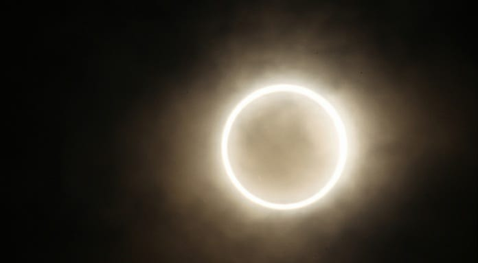 Annular Solar Eclipse 'Ring Of Fire' 2012