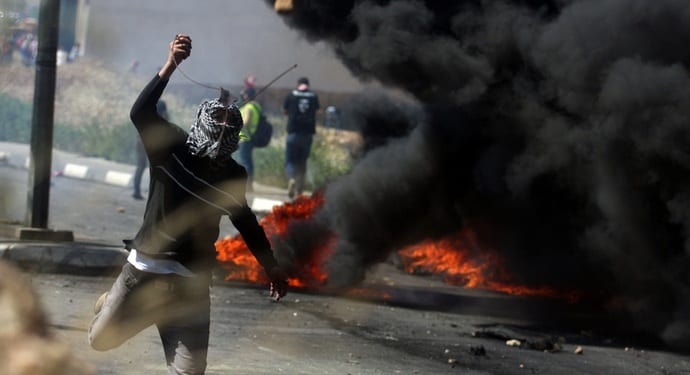 Clashes Erupt As Palestinians Mark Nakba Day
