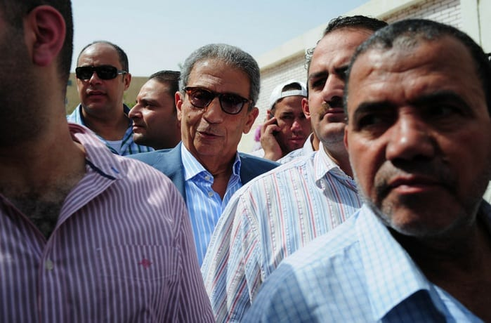 Egyptians Go To The Polls For A Presidential Election