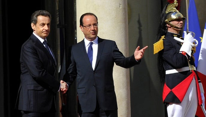 Francois Hollande Sworn In As President Of France