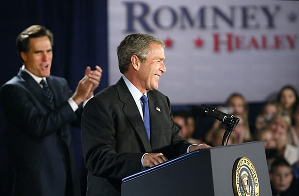 George Bush Endorses Mitt Romney