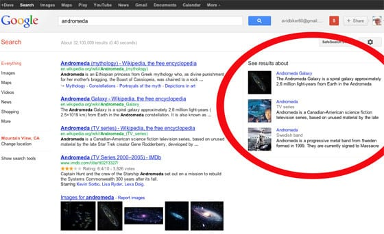Google Launches Knowledge Graph