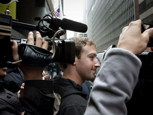 Investors Sue Facebook, Zuckerberg