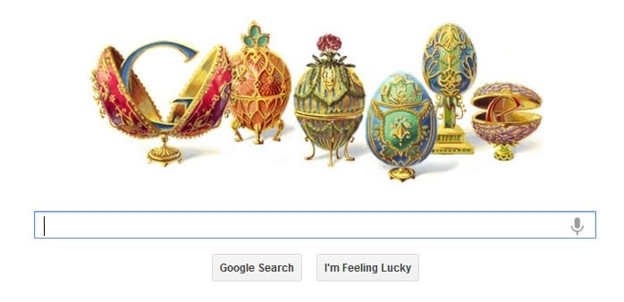 Peter Carl Fabergé Honoured With Google Doodle