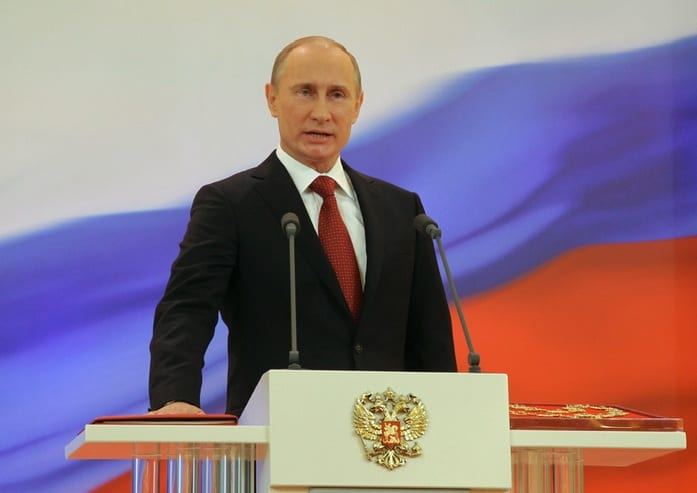 Putin Inaugurated to Third Term As Russian President