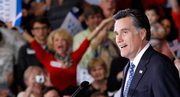 Romney Super PAC Makes Big Buys In Swing States