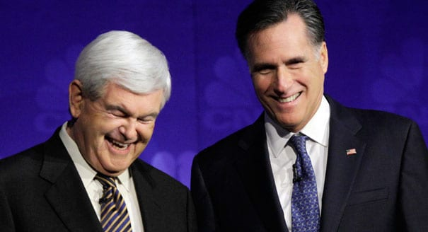 VIDEO - Obama Camp Pre-empts Newt's Romney Endorsement