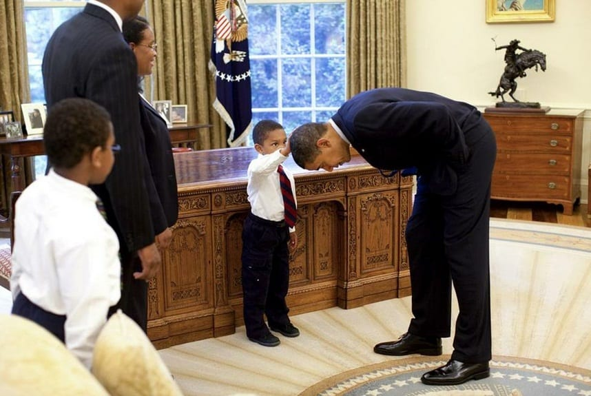 What A 5-Year-Old's Request Says About Obama's Race Role