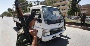 Blast targets Syrian military; 6 soldiers wounded