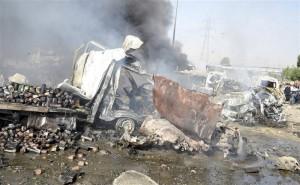 Twin Damascus Blasts Kill 40