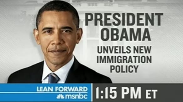 1:15PM ET President To Unveil Change In Immigration Policy