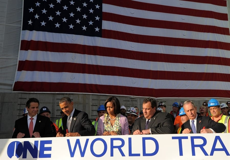 Barack Obama Visits World Trade Center