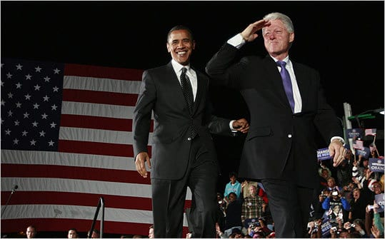 Clinton Targets Romney, GOP In Fundraiser With Obama