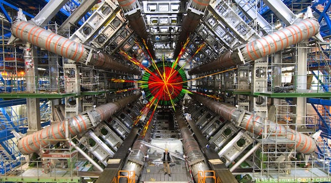 APNewsBreak: God Particle Footprint Found