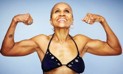 Inspirational Motivational VIDEO Of the Day -74 Year Old Bodybuilder Ernestine Shepherd