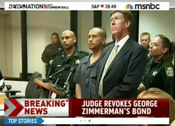 Judge Revokes George Zimmerman Bond