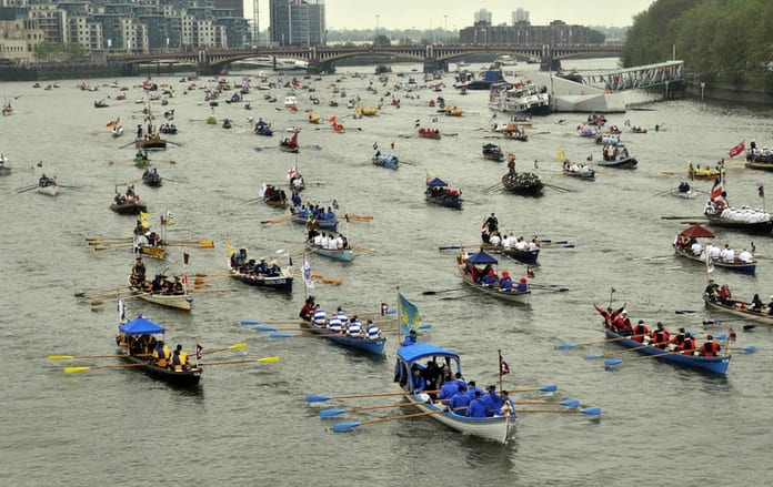 The Queen's Diamond Jubilee Tour - Thames Pageant