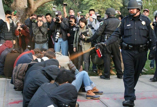 UC Davis Must Reveal Names Of Officers In Pepper Spray Incident, Judge Rules