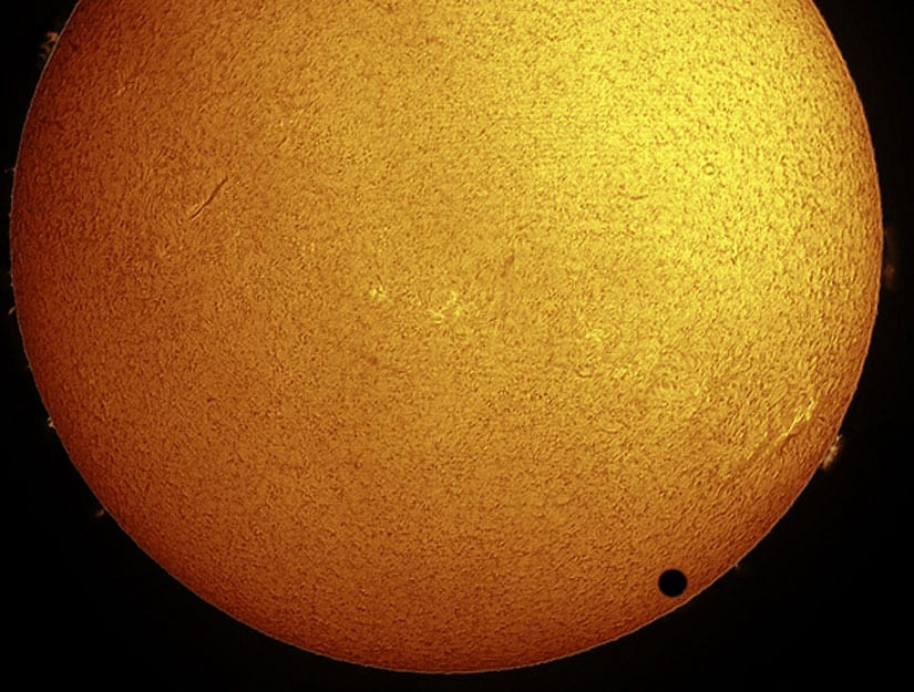 Venus Will Pass In Front Of The Sun Today Beginning Around 6 p.m. EDT (2200 GMT)