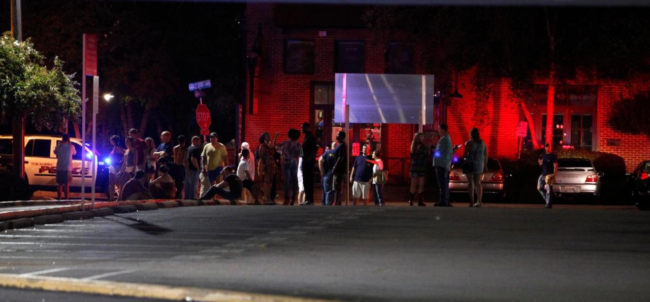 17 People Hurt In Tuscaloosa, Ala., Bar Shooting