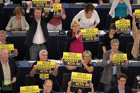EU Parliamentarians Reject ACTA