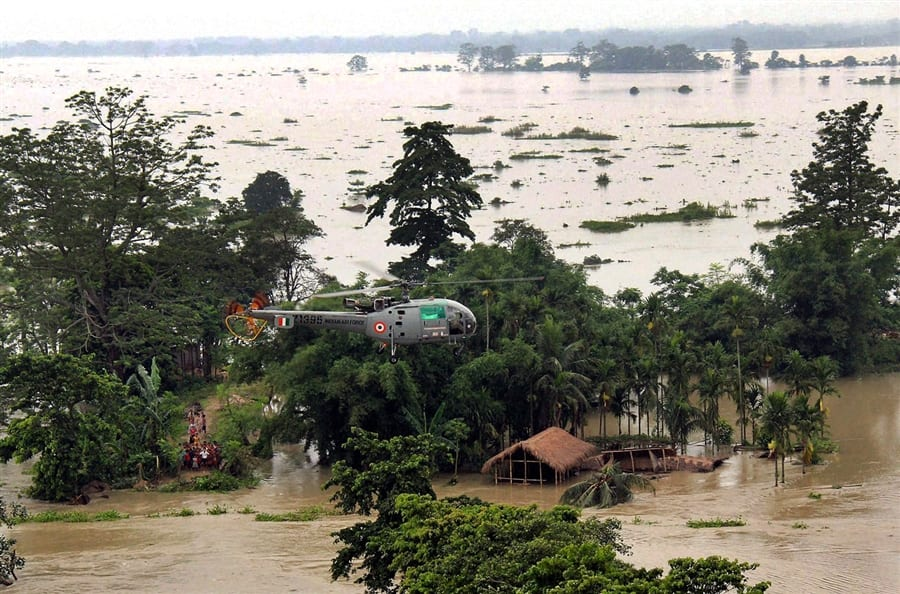 Essay flood in assam