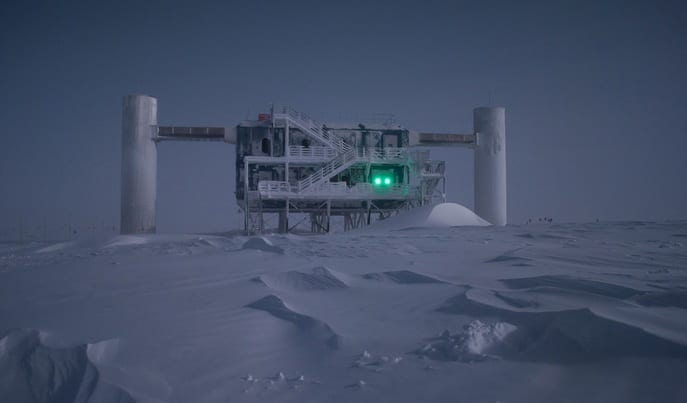 Giant Ice Telescope Hunts For Dark Matter's Space Secrets