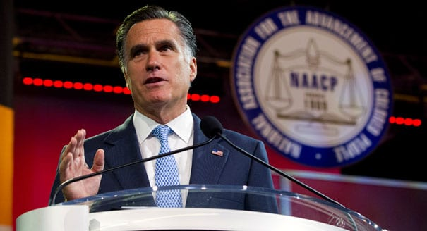 Mitt at NAACP: Booed on health care