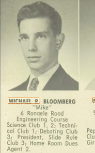 New York City Mayor Mike Bloomberg