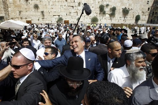 White House Wants Romney To Explain Israel Remarks