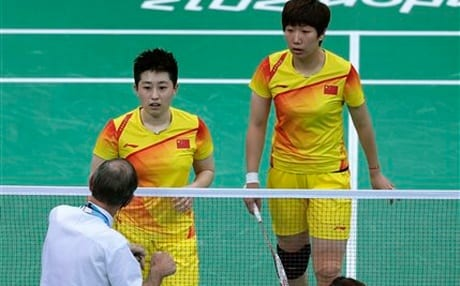8 Badminton Pairs Expelled From Olympics