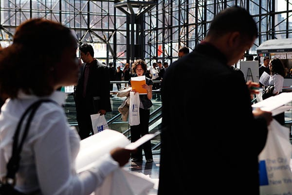 Reports Jobs Unemployment Show Signs Of Improvement In August